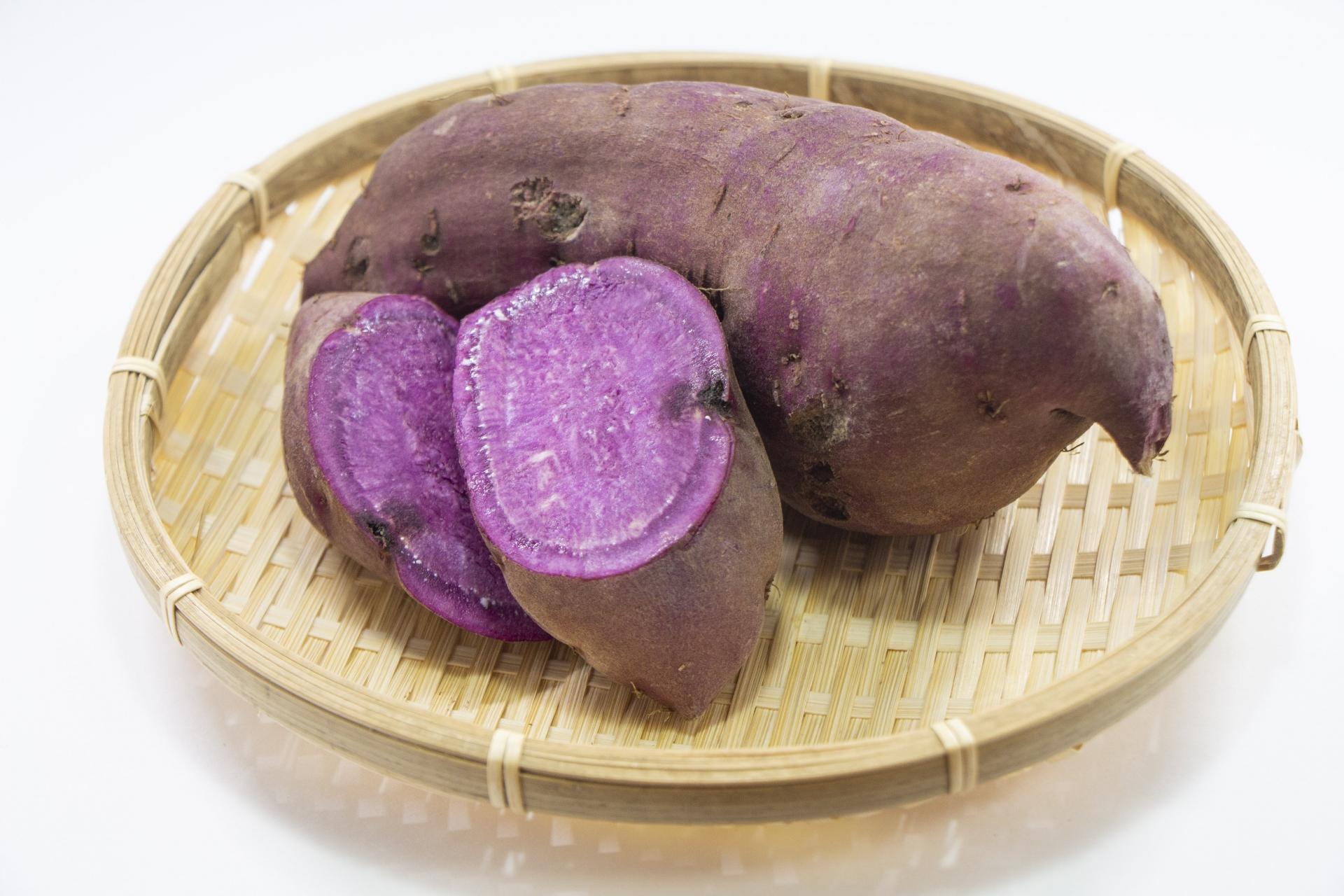 有機紫さつまいも